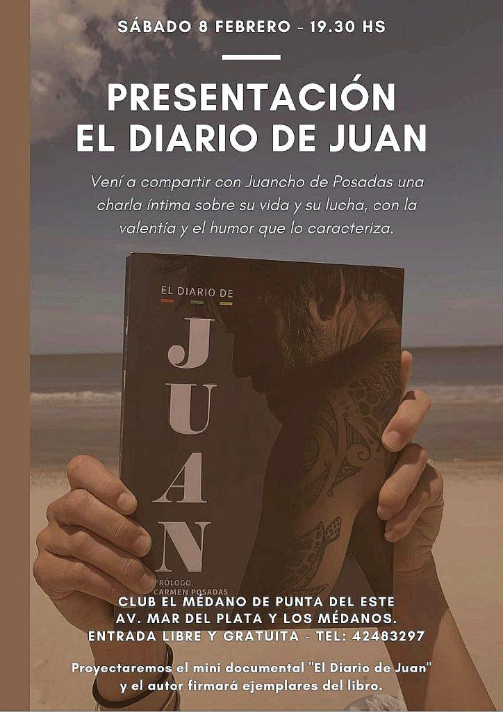 EL DIARIO DE JUAN EN EL MEDANO DE PUNTA DEL ESTE